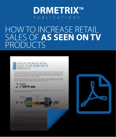 DRMETRIX Publications - How to increase retail sales of as seen on tv products